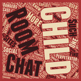 BWI chatrooms social sites and your child 1 text background wordcloud concept