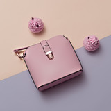 Ladies Fashion Accessories. Pink Bag Pastel colors Trend Minimal - 133434074