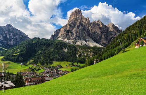 Dolomiti - Corvara in Badia плакат