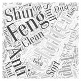 Clutter and Feng Shui Word Cloud Concept