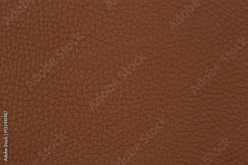 Fotobehang Stof Texture of the natural brown leather products.