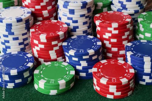 Poker Chips плакат