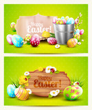 Easter horizontal headers