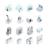 Laboratory Equipment Icon Set