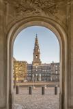 Copenhagen Christianborg Palace Archway
