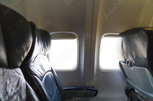 Poster Plane Window