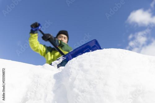雪かき Poster
