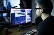 Hacker attack the server in the dark