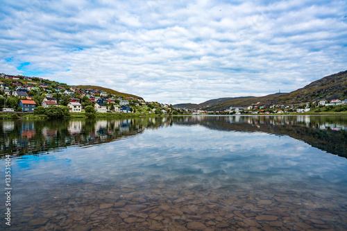 Poster Hammerfest City, Finnmark, Norway