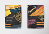 report brochure covers, business corporate identity flyer templ