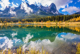 Majestic mountains in Canmore