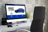 computer desktop rent a car