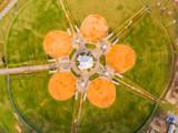 Ball fields in a pentagon