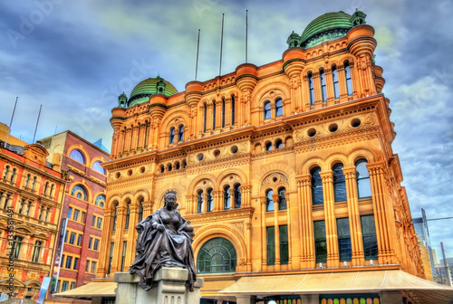 Fotobehang Sydney Queen Victoria Building in Sydney, Australia. Built in 1898