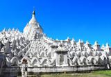 White pagoda of Hsinbyume, Mingun, Myanmar (Burma)
