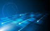 tech data loading pattern innovative concept background - 133616254