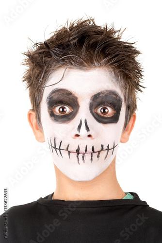 Poster Kid in Halloween