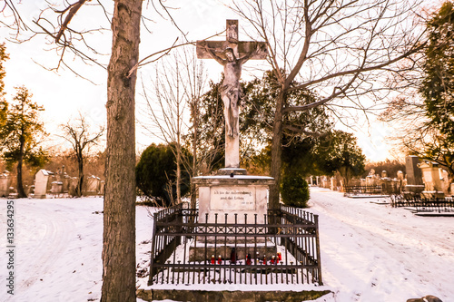 Poster Friedhof Sankt Marx Wien