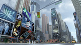 Road on Time Square New York Manhattan. 3D rendering