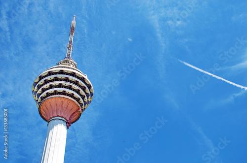 KUALA LUMPUR - MAY 18: Kuala Lumpur Tower (Menara) on May 18, 2013 in Kuala Lumpur, Malaysia Poster