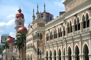 KUALA LUMPUR, MALAYSIA - MAY 18, 2013:Sultan Abdul Samad Building in KL city