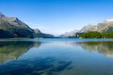 Silsersee in der Schweiz