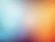 blue orange geometric glass background with triangles