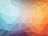 Fototapety abstract geometric background with triangles
