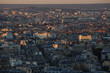 Paris Skyline taken at sunset time from Eiffel tower