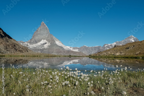 Poster View of the Matterhorn in the Swiss Alps