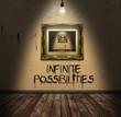 Infinite Possibilities Concept