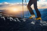 Walking with  ski mountaineering