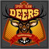 Deers - sport mascot team