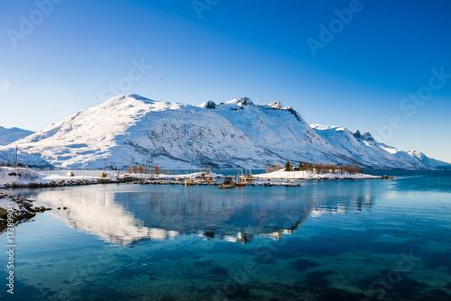Poster Scandinavia in winter