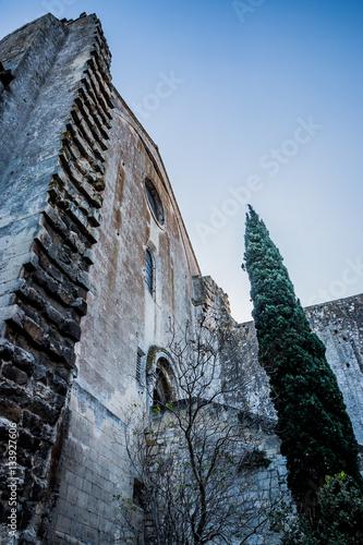 Poster L'Abbaye de Montmajour près d'Arles