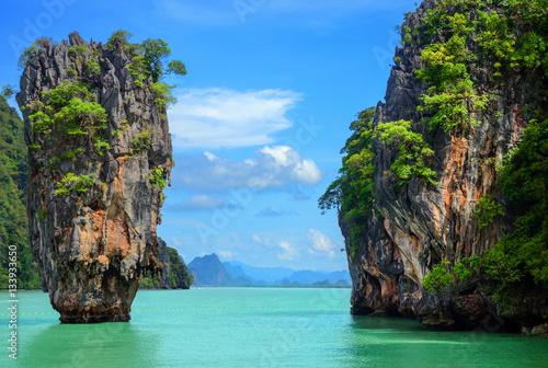 Thaïlande et ses  paysages paradisiaque Poster