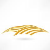 grain field icon - 133942295