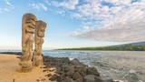 Ki'i in Pu'uhonua O Honaunau National Historical Park, Big Island, Hawaii - 133943639