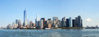 Manhattan skyline in the water front