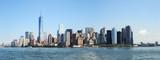 Manhattan skyline in the water front
