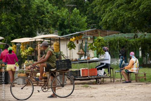 Foto op Canvas Havana Fruit Market - Cuba
