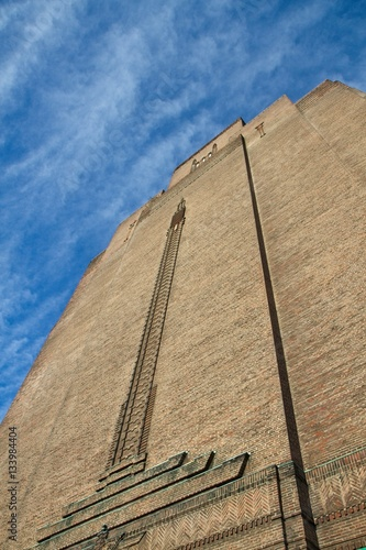 Poster Ventilation tower - Mersey tunnel - Wirral Liverpool