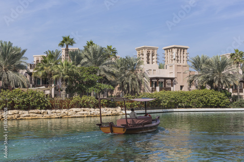 View of the Souk Madinat Jumeirah, Dubai, UAE Poster