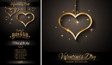 Valentines Day Restaurant Menu Template Background for Romantic Dinner