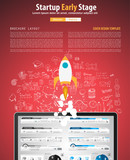 Startup Landing Webpage or Corporate Design Covers to use for web
