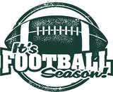 Its Football Season Sports Stamp