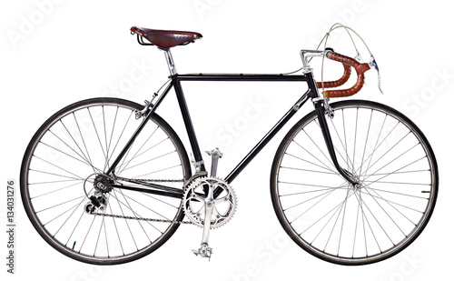 Road bike, vintage bike - 134031276