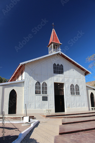 Juliste Santa-Bárbara-Kirche in Santa Rosalía