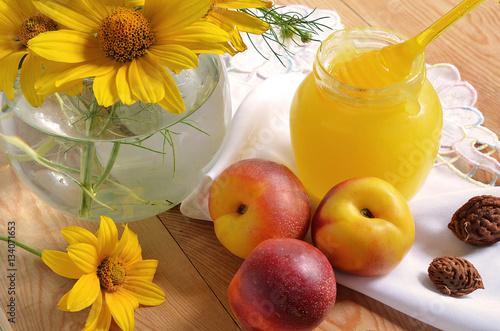 Poster Нектарины с мёдом.