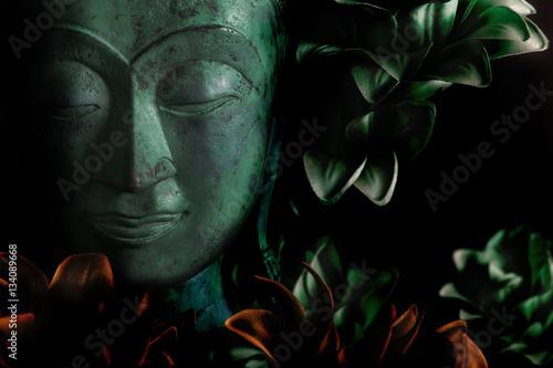 Foto op Canvas Zen Buddha and Enlightenment